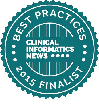 2015 Clinical Informatics News Best Practices Award